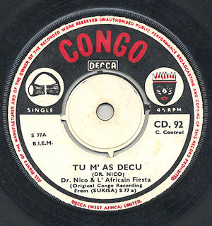 CongoDeccaCD92