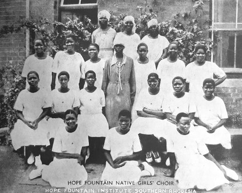 HopeFountainNativeGirls'Choir