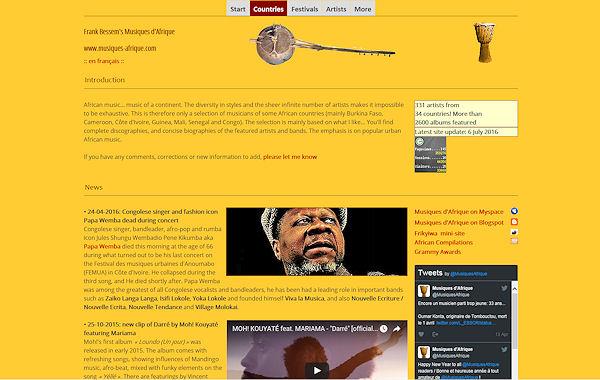 Musiquesd'Afrique